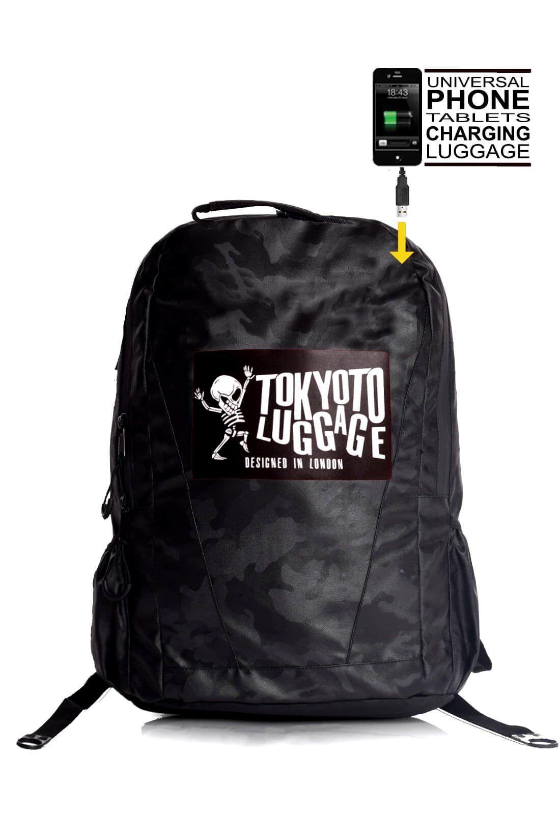 rucksaecke mit led licht tokyoto-luggage CAMOUFLAGE 1